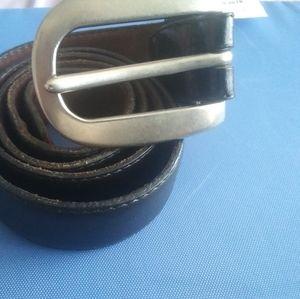 Johnny Farah Leather Belt SZ38x1 $48+Free belt